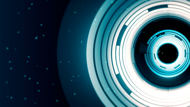 abstract spinning ring background - disk stock videos and b-roll footage