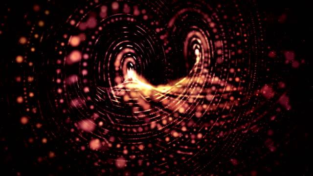 Fond de mouvement de spirale abstraite