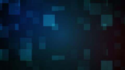 sfondo quadrati astratti - transparent video stock e b–roll