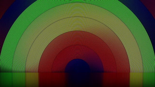 abstract stage, lgbt colors - concentric stock videos & royalty-free footage