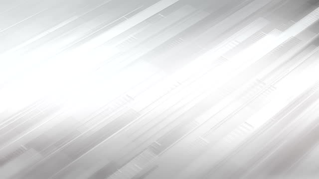 abstract stripes background (white / gray / silver) - loop - white background stock videos & royalty-free footage