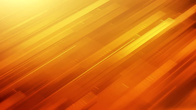 abstract stripes background (yellow / orange / red) - loop - tilt stock videos & royalty-free footage