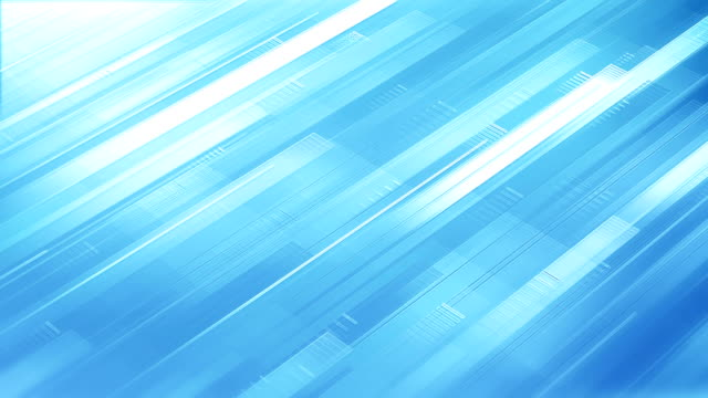 Abstract Stripes Background (Light Blue) - Loop
