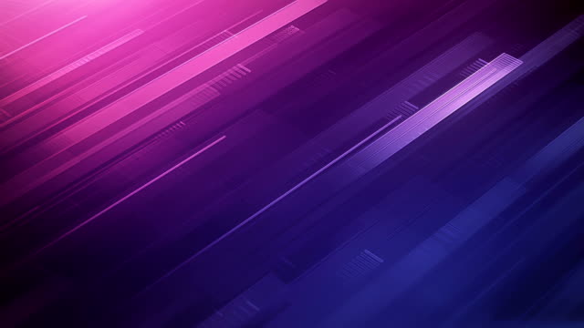 abstract stripes background (pink / purple) - loop - block shape stock videos & royalty-free footage