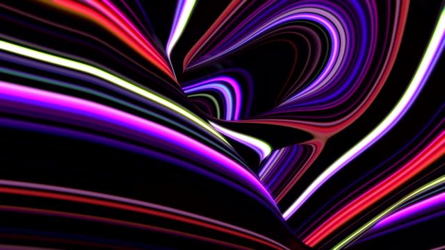 abstract stripes background - tunnel stock videos & royalty-free footage