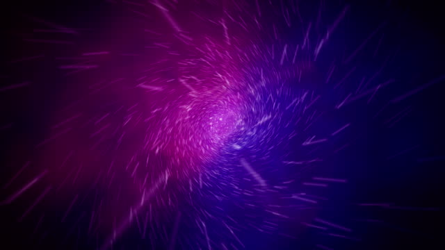vídeos de stock e filmes b-roll de abstract stylized magical explosion 3d rendering - purple