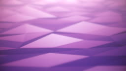 Abstract Surface Background (Purple) - Loop