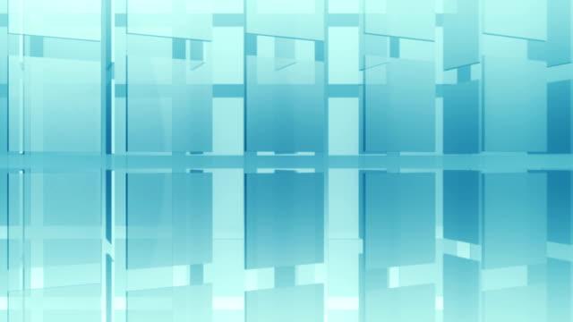 vídeos de stock, filmes e b-roll de fundo abstrato placa de circuito - cubo