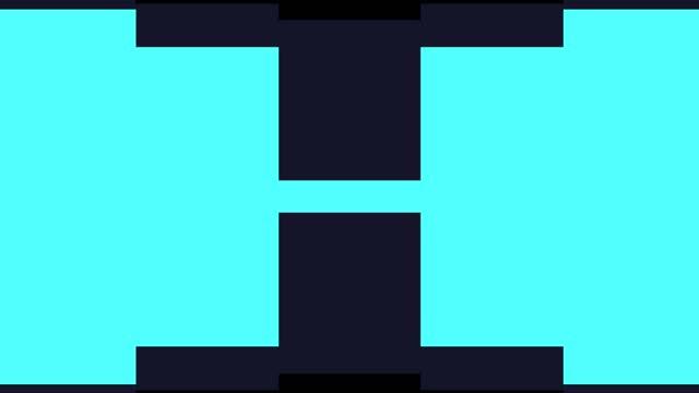 abstrakt övergång och alfa matt kanal - tvådimensionell form bildbanksvideor och videomaterial från bakom kulisserna
