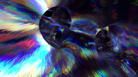abstract translucent background, shimmering with all the colors of the rainbow, endless tunnel - vortex stock videos & royalty-free footage
