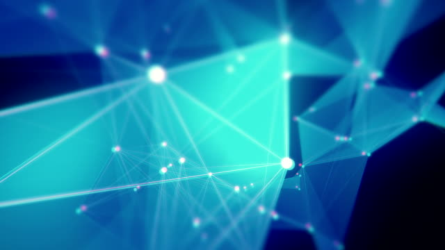 abstrakte dreieck form endlos wiederholbar hintergründe - connection in process stock-videos und b-roll-filmmaterial
