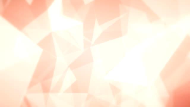 stockvideo's en b-roll-footage met abstracte driehoeken (loopbaar) - driehoek