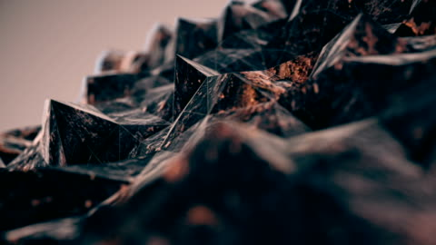 abstract triangles (loopable) - lava stock videos & royalty-free footage