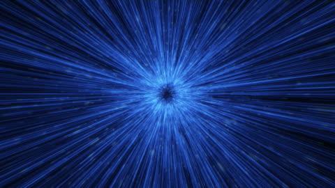 vídeos y material grabado en eventos de stock de animación de fondo de túnel abstracto - rayo de luz