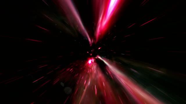 vidéos et rushes de animation abstraite de fond de tunnel - tunnel