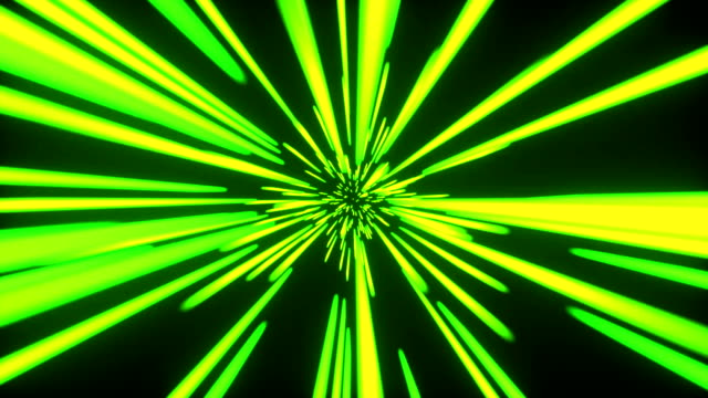 abstract tunnel speed light starburst background dynamic technology _ seamless loop - distorted image stock videos & royalty-free footage