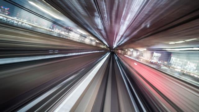 abstrakter tunnel zoon in - computer network stock-videos und b-roll-filmmaterial