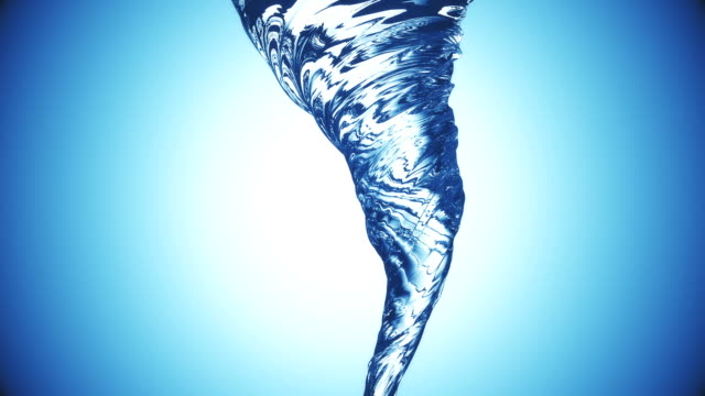 Abstract Twisting Water background