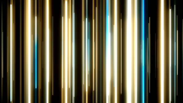 abstract vertical lines loopable background footage - multi coloured stock videos & royalty-free footage