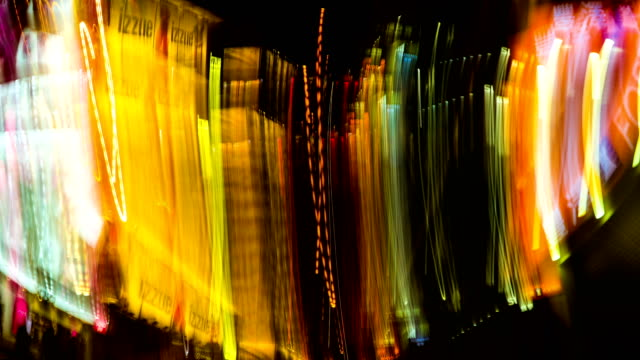 abstract walking in vertical way background - blurred motion stock videos & royalty-free footage