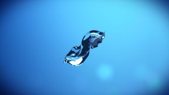 Abstract water splash