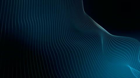 vídeos y material grabado en eventos de stock de fondo de onda abstracta - esfuerzo
