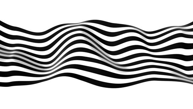 vidéos et rushes de lignes abstraites d'onde 4k - quadrillage