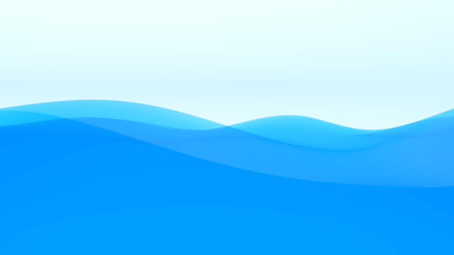abstract wavy background loop - wave stock videos & royalty-free footage