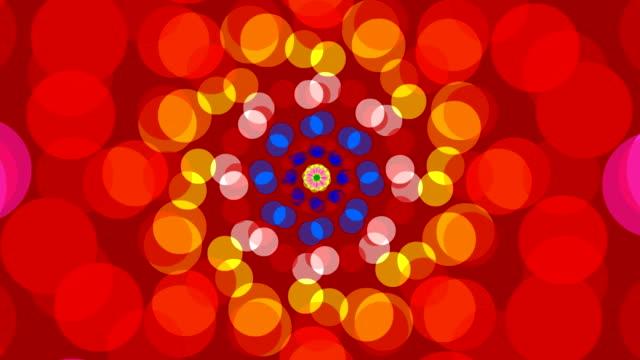 Abstrato com círculos de fundo da Roda de Fiar