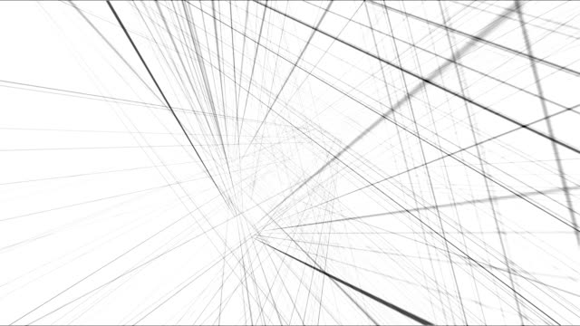 abstract wire frame 3d grid - development stock videos & royalty-free footage