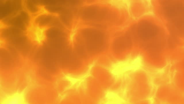 abstract yellow flame background animation. seamlessly loopable. - brightly lit stock videos & royalty-free footage