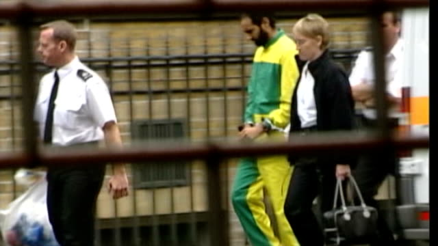 abu hamza and four others to be extradited to united states after losing final appeal r16090401 / 1692004 bow street magistrates court babar ahmad... - court hearing stock videos and b-roll footage