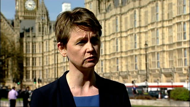 Government appeal bid rejected Westminster Yvette Cooper MP interview SOT The legal strategy of the Home Secretary has completely failed Downing...