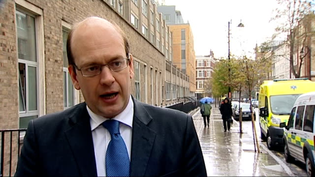judge may free qatada again london mark reckless mp interview sot the government needs to show it is the politicians the ministers who are in charge... - アブ クアタダ点の映像素材/bロール