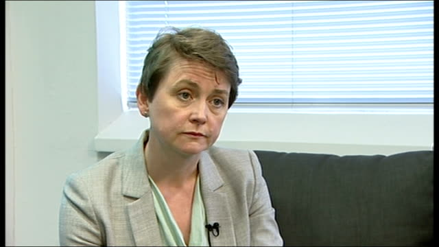 abu qatada may return to jordan voluntarily yvette cooper interview england london int yvette cooper mp interview sot it would have been better if he... - アブ クアタダ点の映像素材/bロール