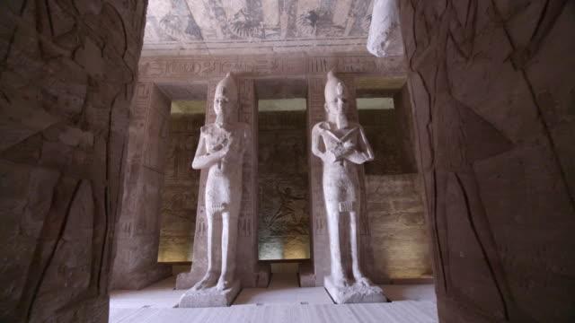 abu simbel temple, aswan, egypt - egypt stock videos & royalty-free footage