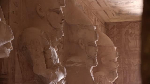 abu simbel temples, aswan, egypt - egypt stock videos & royalty-free footage
