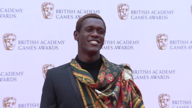 abubakar salim on april 04 2019 in london united kingdom - british academy television awards stock videos & royalty-free footage