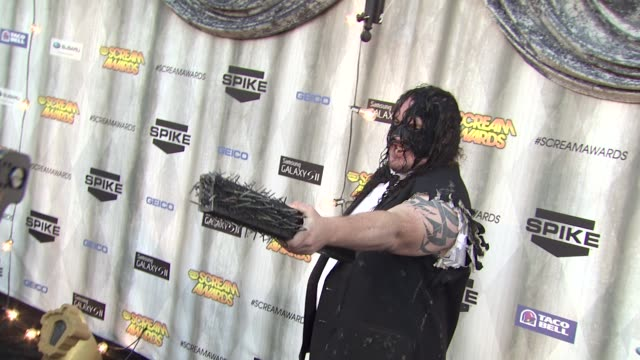 abyss at the spike tv's 'scream awards at universal city ca - universal city stock videos & royalty-free footage