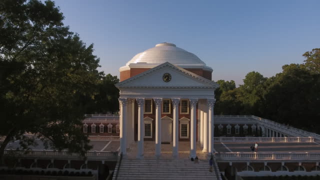 academic life in virginia - thomas jefferson stock videos & royalty-free footage