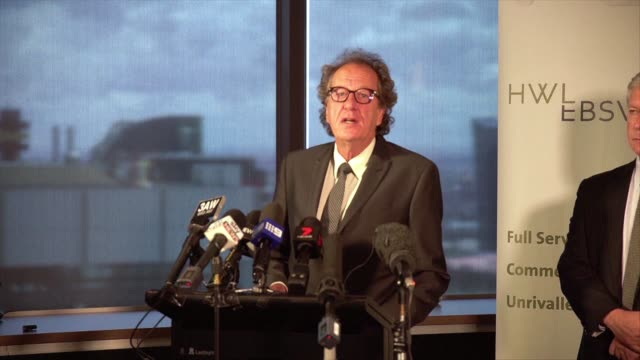 Academy award winning actor Geoffrey Rush filed defamation proceedings against a News Corp newspaper in Australia over a story claiming he engaged in...