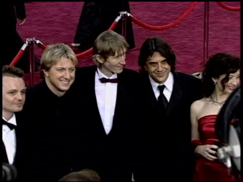 academy awards 2004 1 of 3 arrivals at the 2004 academy awards arrivals at the kodak theatre in hollywood california on february 29 2004 - 76th annual academy awards stock videos & royalty-free footage