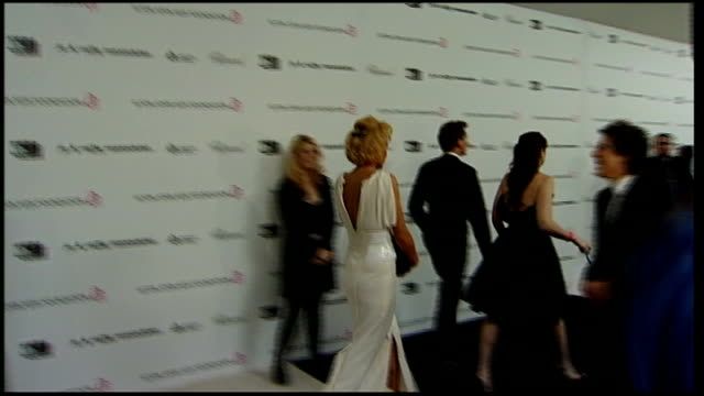 arrivals for elton john oscars party; ben stiller speaking to reporters and along on red carpet - ben elton stock videos & royalty-free footage