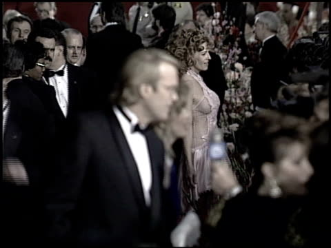 academy awards 93 exteriors feed at the 1993 academy awards at dorothy chandler pavilion in los angeles california on march 29 1993 - dorothy chandler pavilion stock videos and b-roll footage