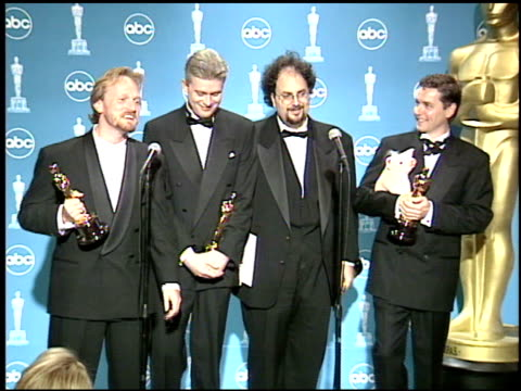 academy awards backstage at the 1996 academy awards at the shrine auditorium in los angeles california on march 25 1996 - 68th annual academy awards stock videos and b-roll footage