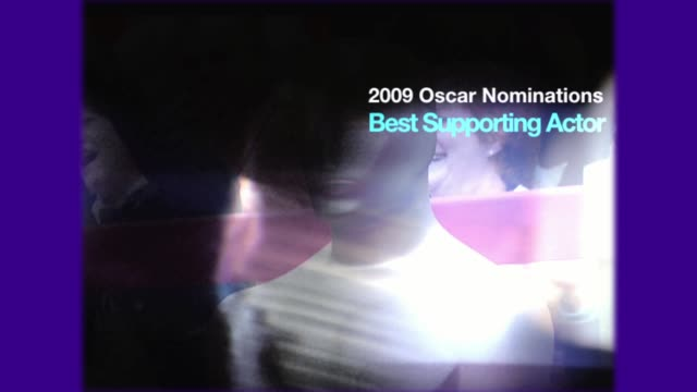 academy awards nominations best supporting actor - best supporting actor stock videos & royalty-free footage