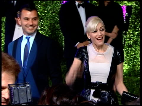 Vanity Fair Oscars Party Singer Gwen Stefani and husband Gavin Rossdale arriving