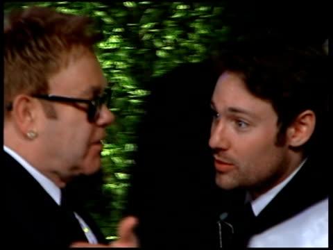 Vanity Fair Oscars Party Sir Elton John and David Furnish along