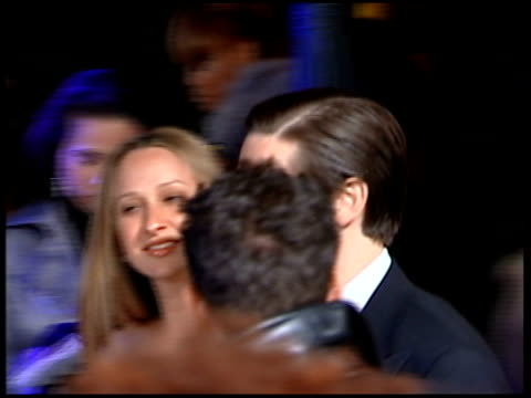 vanity fair oscars party tobey maguire arriving - tobey maguire stock videos and b-roll footage