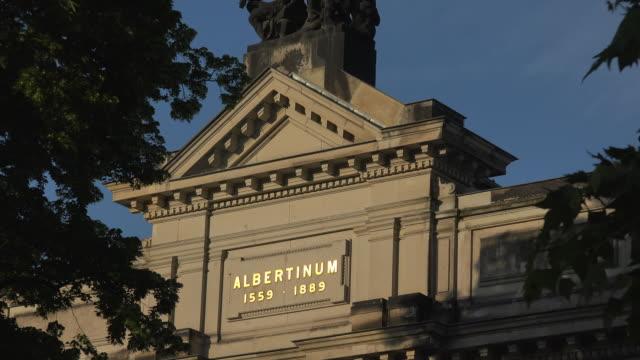 Academy of Fine Arts at Bruehl's Terrace, Dresden, Saxony, Germany
